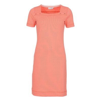 Le Pep Dress Ava Coral Multi Graphic
