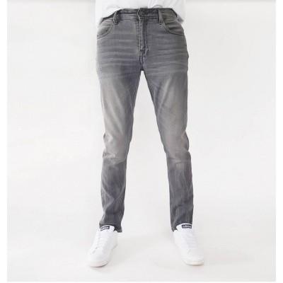 Foto van Amsterdenim Jan Slim Fit Jeans DK Concrete