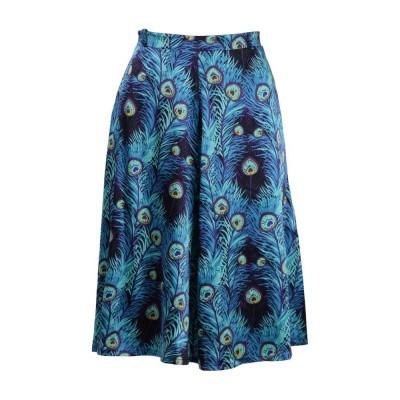 King Louie Serena Skirt Plume Orient Blue