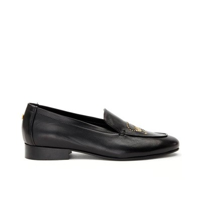 Foto van Fabienne Chapot Hayley Loafer Monkey Trouble Black Gold