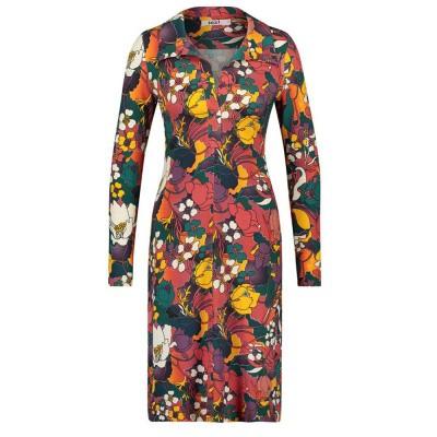 Foto van IEZ! Dress Polo Jersey Print Orange