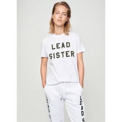 Foto van Zoe Karssen Lead Sister Loose Fit T-Shirt Optical White