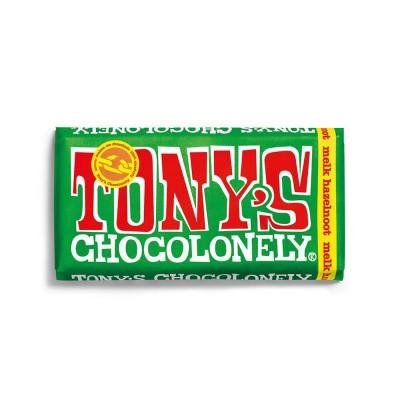 Foto van Tony's Chocolonely Melk Hazelnoot 180 gram