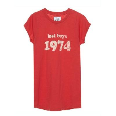 Zoe Karssen Lost Boys T-Shirt Tomato