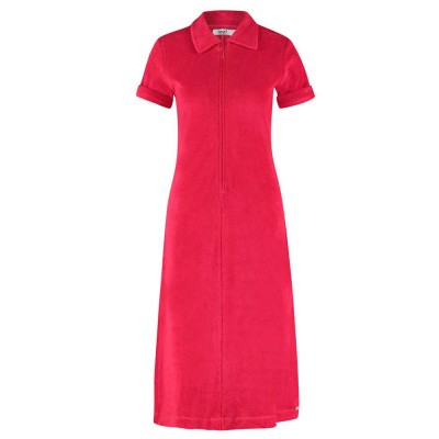 IEZ! Dress Polo Short Sleeves Terry Red