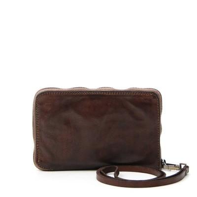 Foto van Campomaggi Big Wallet with wrist string dark brown