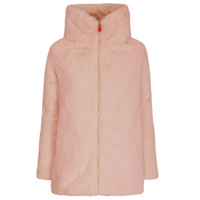 Foto van Save the Duck Fury 7 Cappotto Cappuccio Blush Pink
