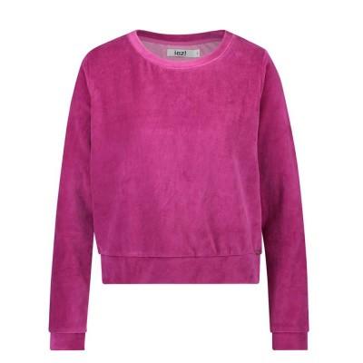 Foto van IEZ! Sweater Velvet Pink