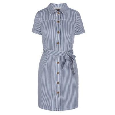 King Louie Norma Dress Americana Stripe Palace Blue