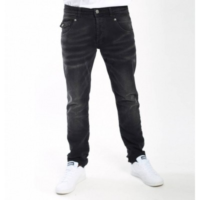 Foto van Amsterdenim Johan Tapered Fit Jeans Black Wash