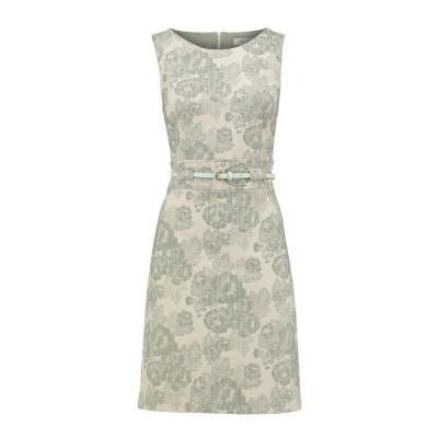 Le Pep Dress Ellen Off White Laurel Green