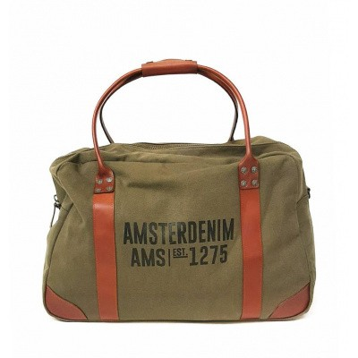 Foto van Amsterdenim Abel Bag Army Green