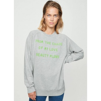 Foto van Zoe Karssen Beauty Flows Boyfriend Sweat Grey Heather