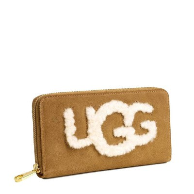 Foto van UGG Honey Zip Around Wallet Sheep Chestnut