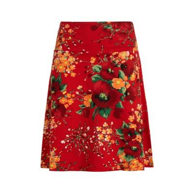King Louie Border Skirt Splendid Fiery Red