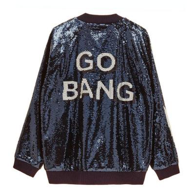 Zoe Karssen Go Bang Bomber Mood Indigo