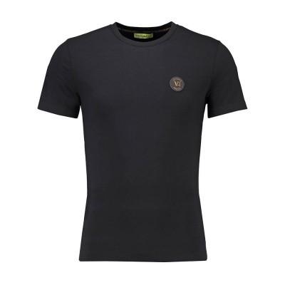 Foto van Versace Jeans Extra Slim T-Shirt Basic Black