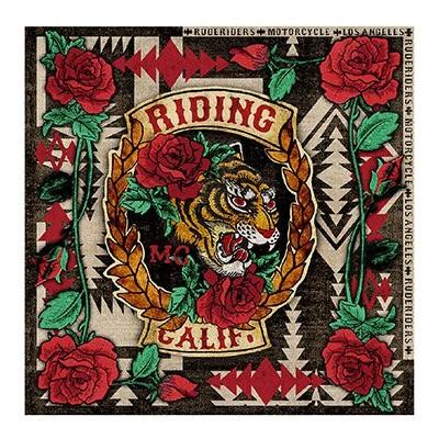 Foto van Rude Riders Riding California Bandana Unica