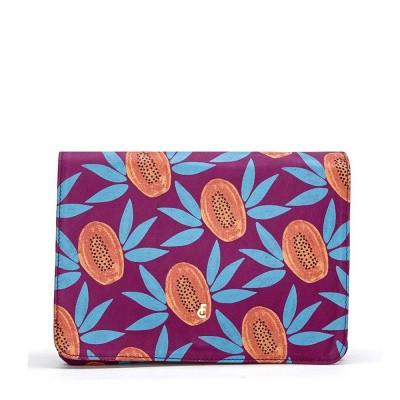 Fabienne Chapot Lara Bag Printed Iris Paradise Orange