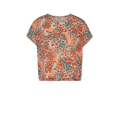 IEZ! T-shirt Cotton Print Orange