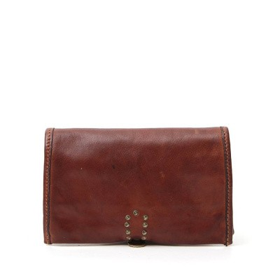 Foto van Campomaggi Wallet in cognac leather