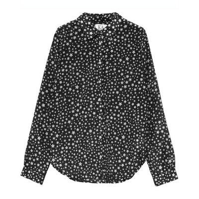 Zoe Karssen Stars All Over Loose Fit Shirt Moonless Night