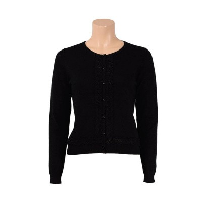 King Louie Cardi Fancy Tape Black