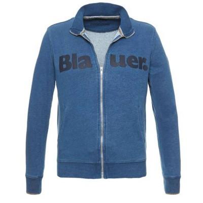 Foto van Blauer Open Sweatshirt Blue Thames