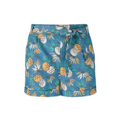 King Louie Roisin Shorts Lanai Ocean Blue