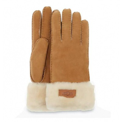 Foto van UGG Turn Cuff Glove Chestnut