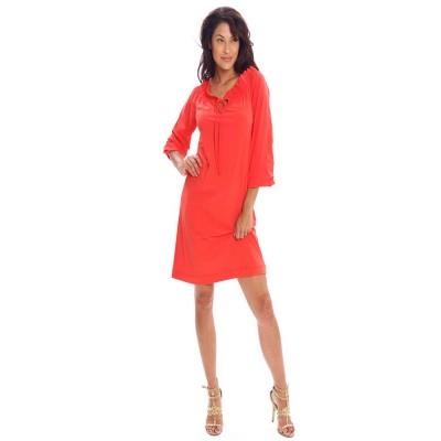 Tessa Koops Romy Dress Red