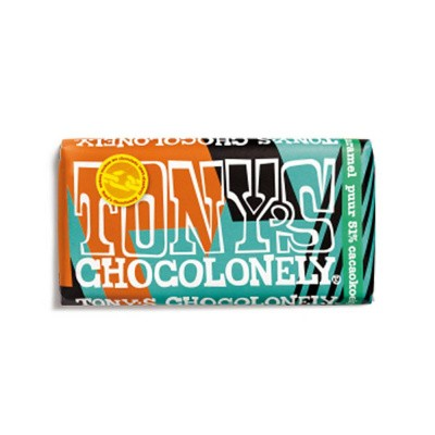 Tony's Chocolonely Limited Edition: Puur Cacaokoekje Karamel