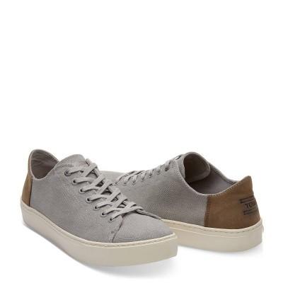Foto van Toms Lenox Sneaker Canvas Drizzle Grey Wash
