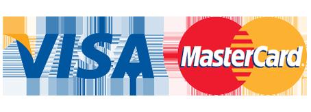 Logo van betaalmogelijkheid Visa/Mastercard