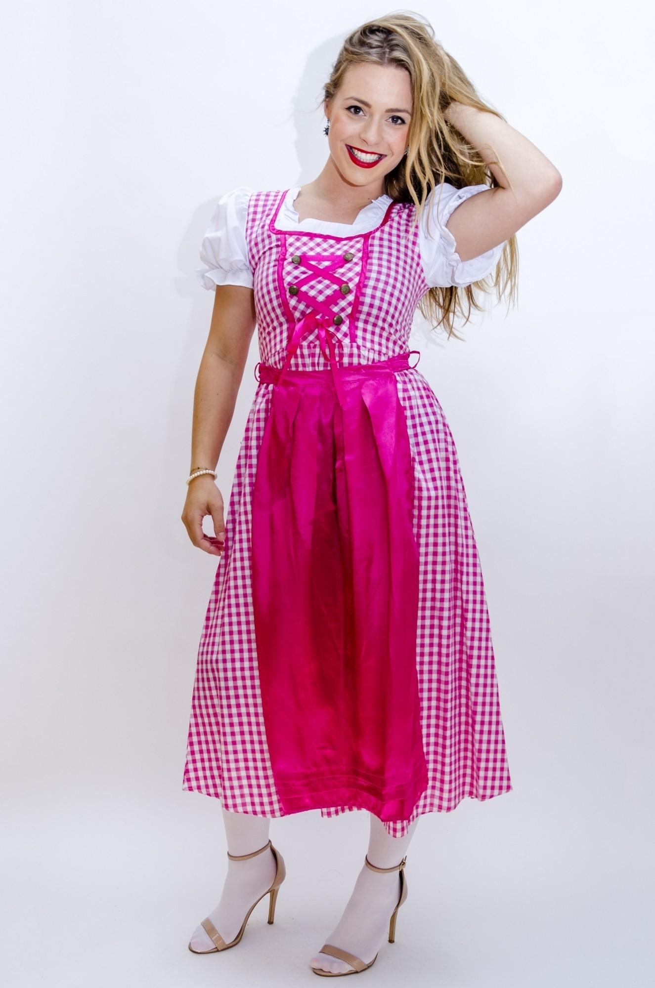 13b091dca986df Tiroler jurk lang Lena - Confettifeest.nl