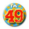 Afbeelding van Button 49 jaar