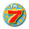 Afbeelding van Button 7 jaar