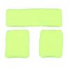Afbeelding van Neon zweetband hoofd en pols geel