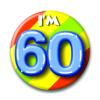Afbeelding van Button 60 jaar