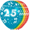 Afbeelding van Ballonnen 25 jaar