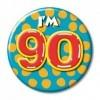 Afbeelding van Button 90 jaar