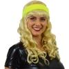 Afbeelding van Zweet hoofdband neon geel