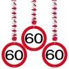 Afbeelding van Hangdecoratie Verkeersbord 60/3st