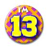 Afbeelding van Button 13 jaar