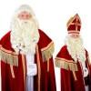 Afbeelding van Sinterklaas baard Myra kanekalon draad snor 34.113