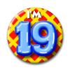 Afbeelding van Button 19 jaar