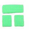 Afbeelding van Neon zweetband hoofd en pols groen