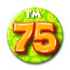 Afbeelding van Button 75 jaar