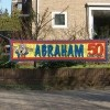 Afbeelding van Straatbanier 40x180cm Abraham Strps