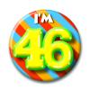 Afbeelding van Button 46 jaar